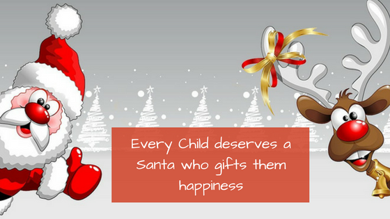 Every Child deserves a Santa Claus