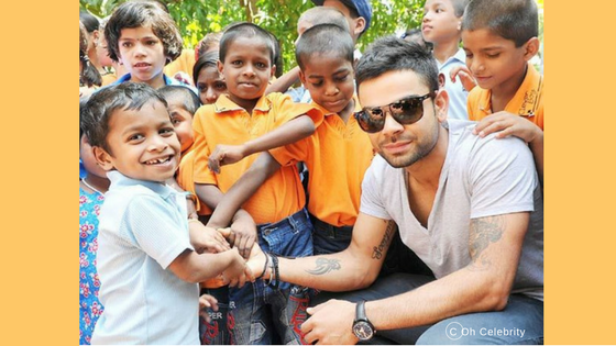 Virat Kohli Is Very Sensitive Towards Society_ Read His Charity Work