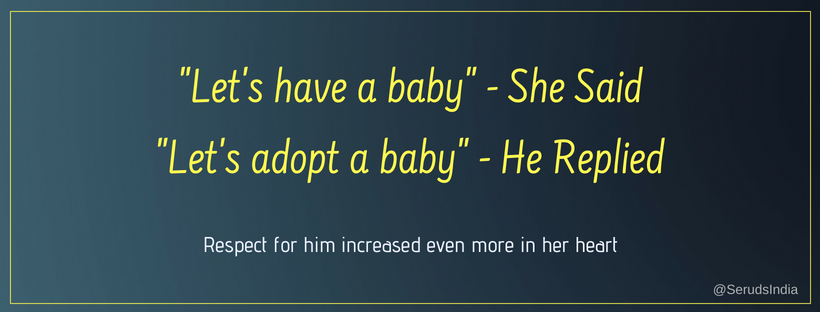 World Population Day - Heart warming Quote about Charity and Adoption
