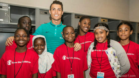 Charity Work By Cristiano Ronaldo Will Make You His Fan (for sure)