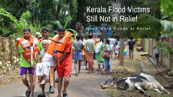 Kerala Flood Victims Still Not in Relief, Need More Funds at Relief Camps