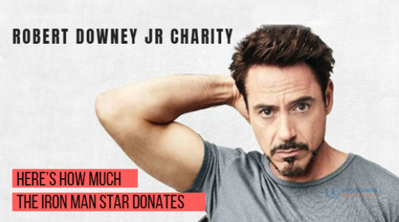 Robert Downey Jr Charity