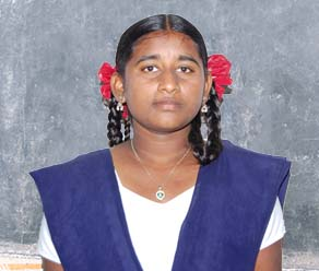 Anusha B_A Orphan Person in need
