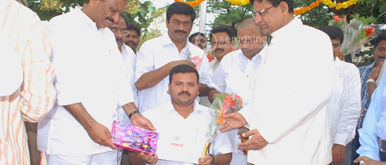 Award from dist collector November 2010 AP FormationDay