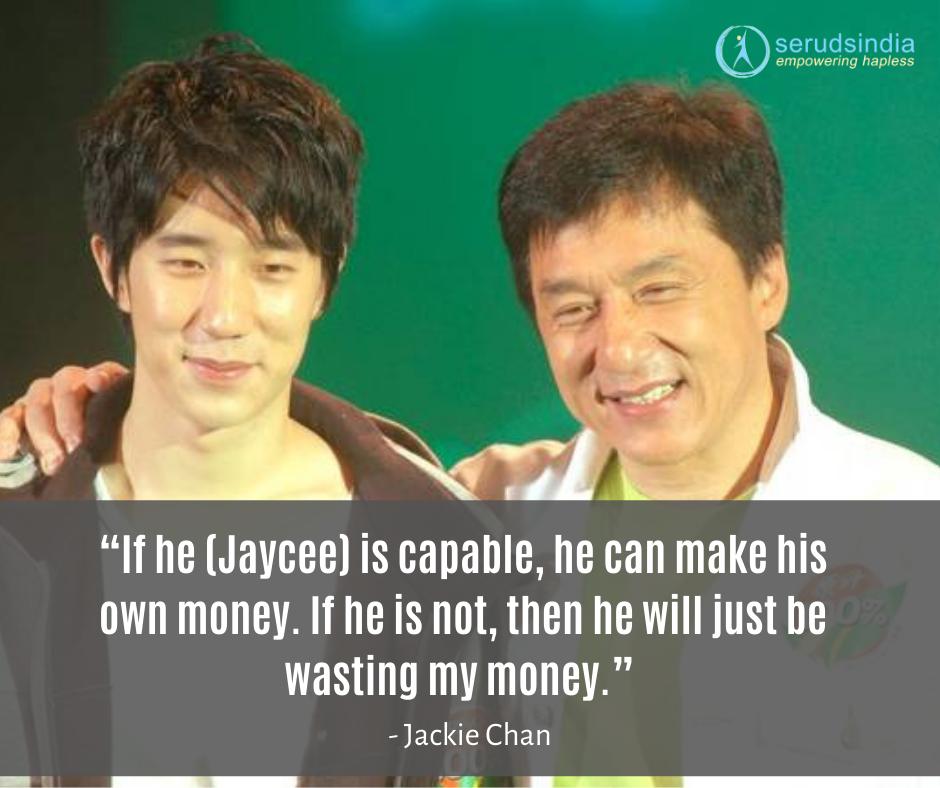 Jackie Chan Charity Work - 2