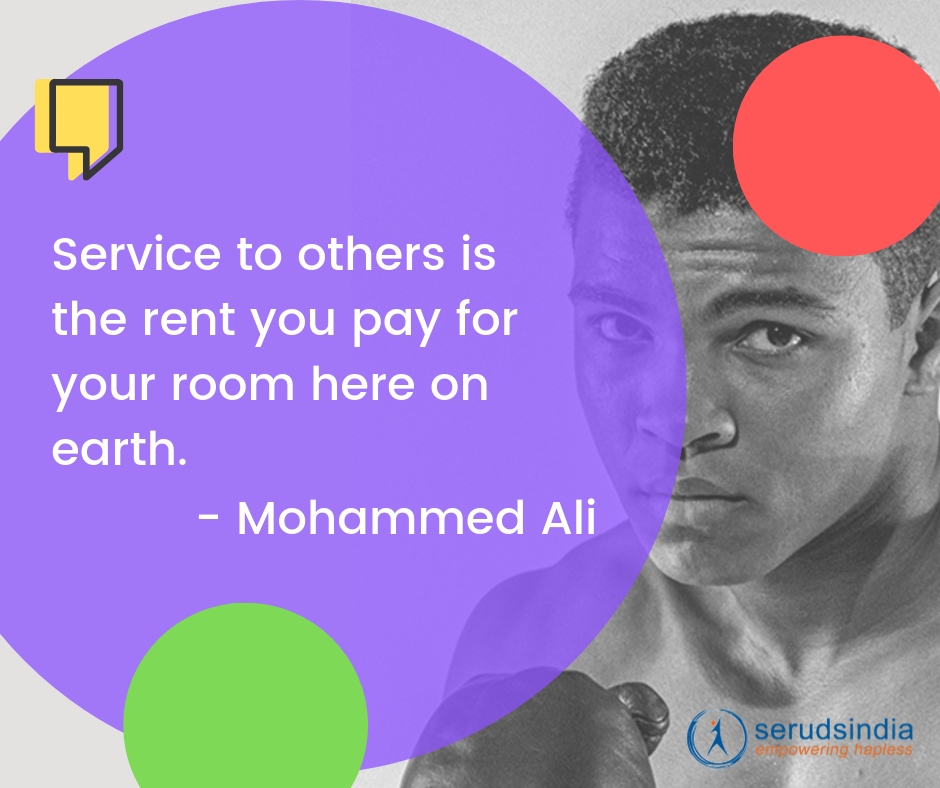Mohammed Ali Quotes About Helping Others
