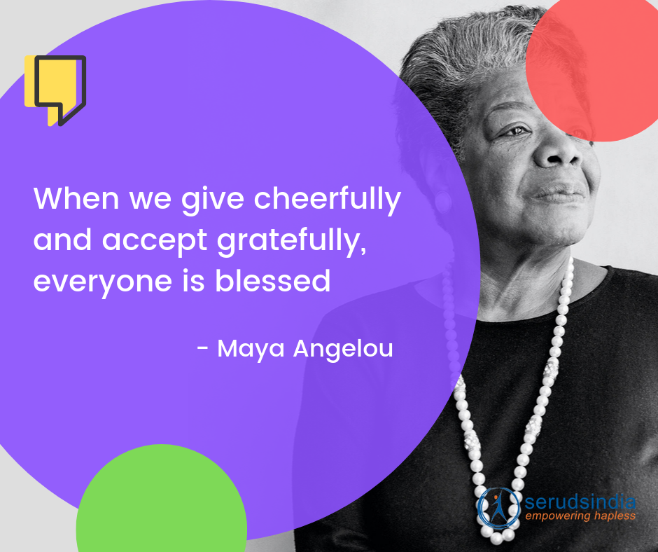 Maya Angelou - Quotes About Helping People