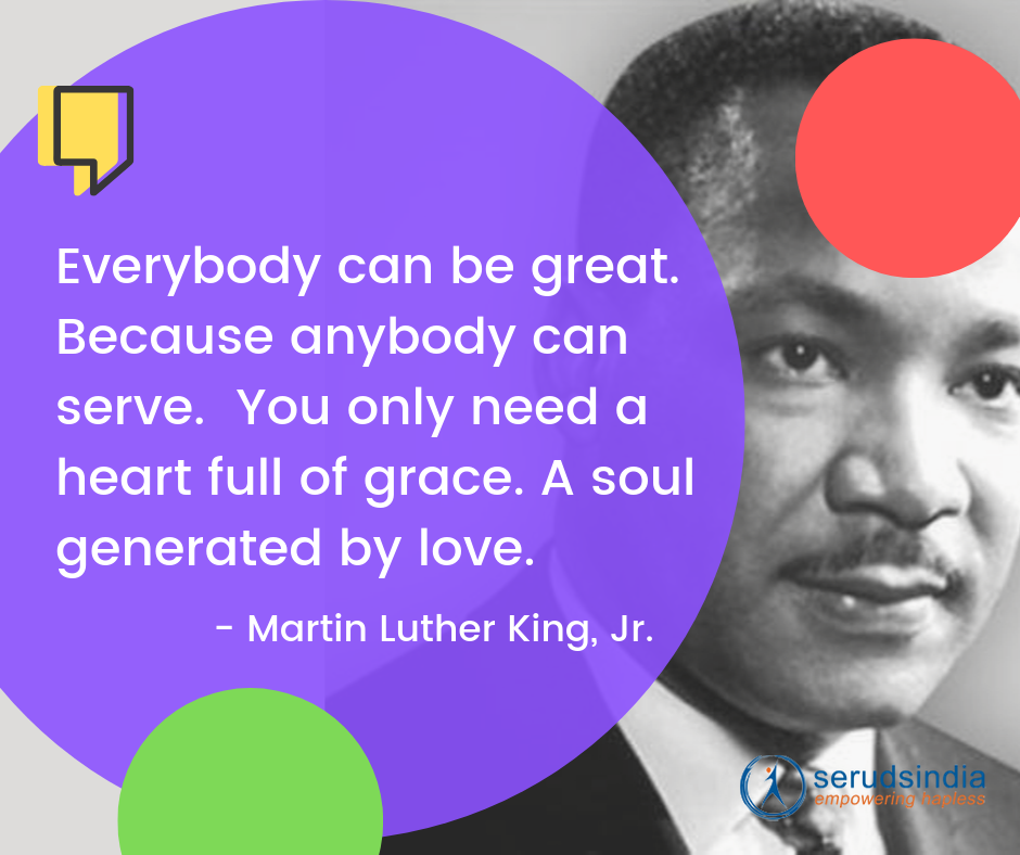 Martin Luther King, Jr- Quotes About Helping People