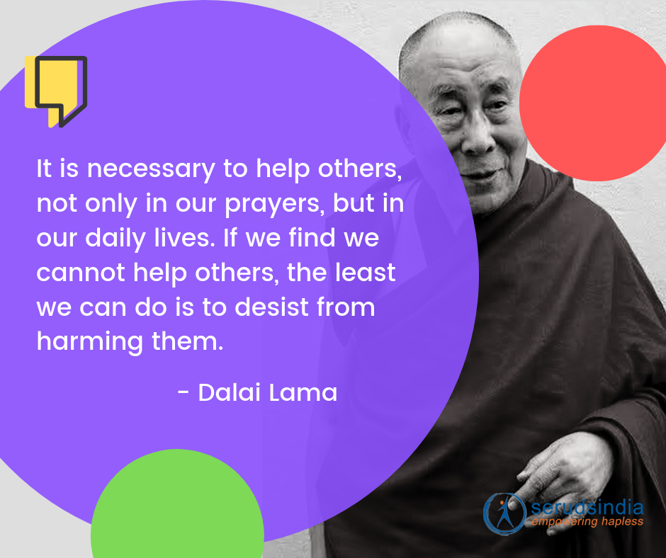 Dalai Lama- Quotes About Helping People