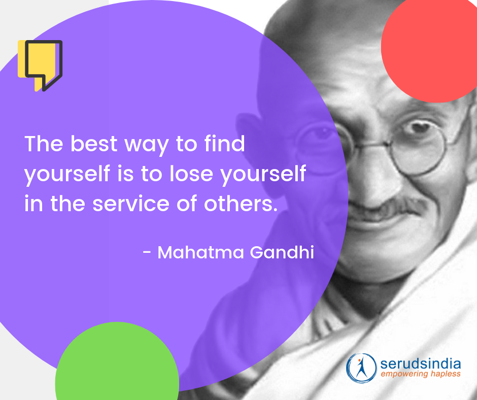 Mahatma Gandhi - Quotes About Helping People