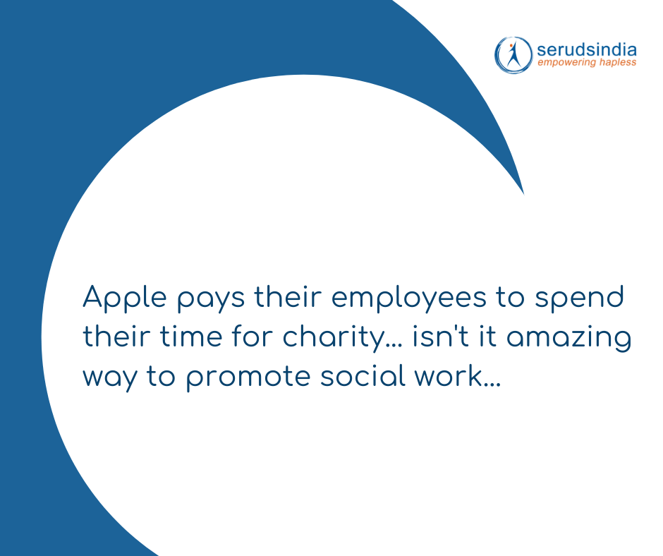 Apple Company Social And Charity Work
