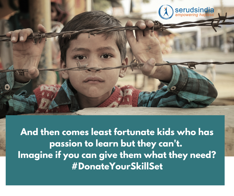 Donate Skill Set To Poor By Providing Free Training to Orphans