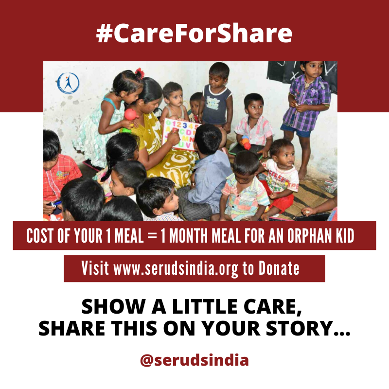 SERUDS Care For Share - Charity Campaign
