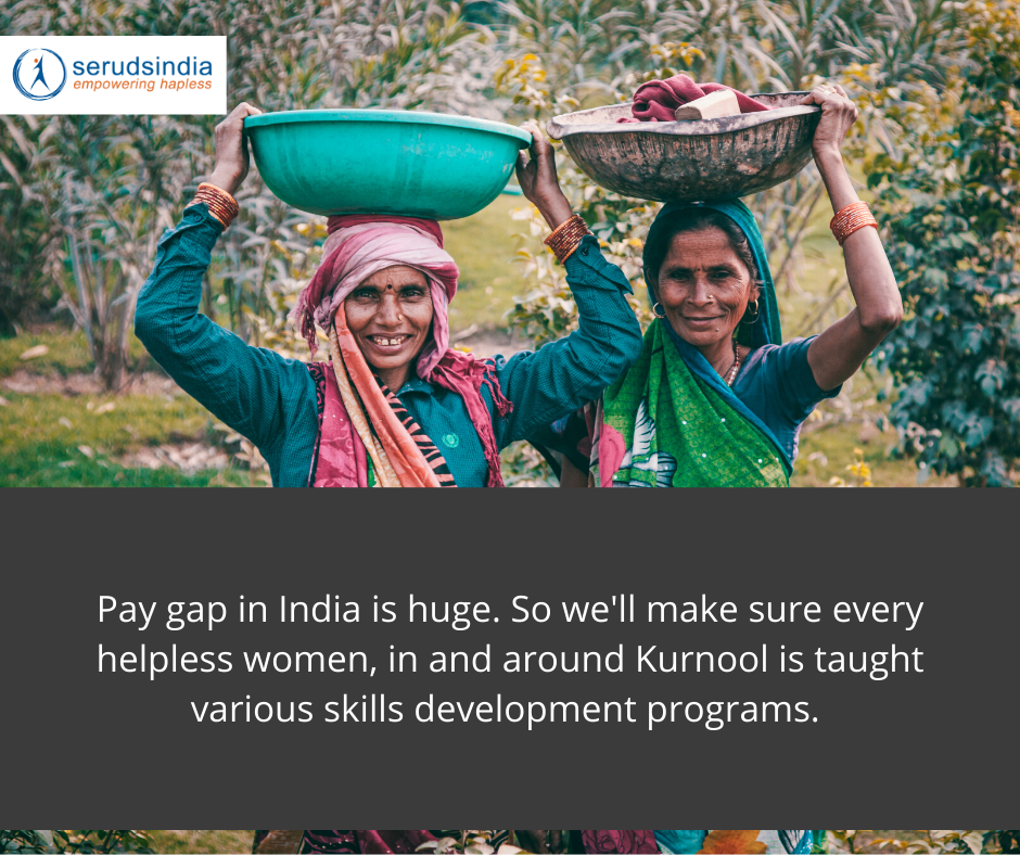 'She' Is Capable of Everything - Donate To Women Skill Development