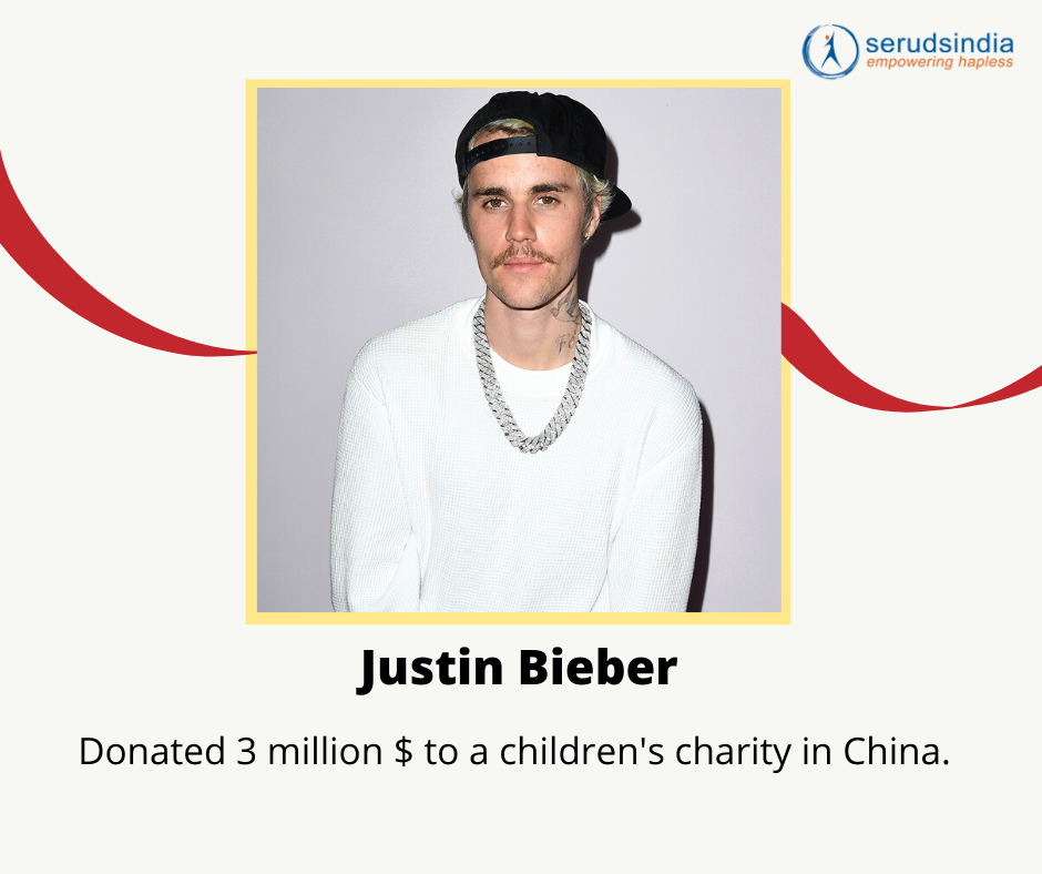 Justin Beiber Donations to Coronavirus