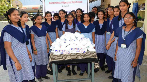 Donate Sanitary Pads to Girls in India