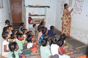 Creche for poor children at Prajanagar, B.Thandrapadu (post) Kurnool Mandal & Dist