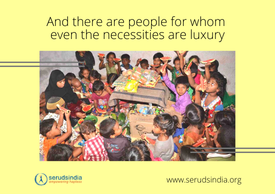 SERUDS UPI Donation - NGO Causes to Donate _ Where to donate in India