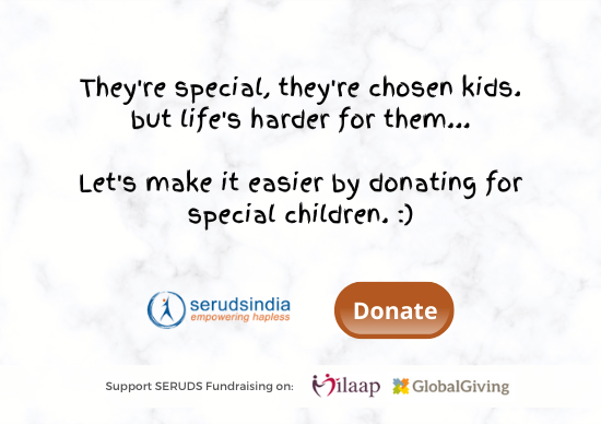 They're special, they're chosen kids. but life's harder for them... Let's make it easier by donating for special children.