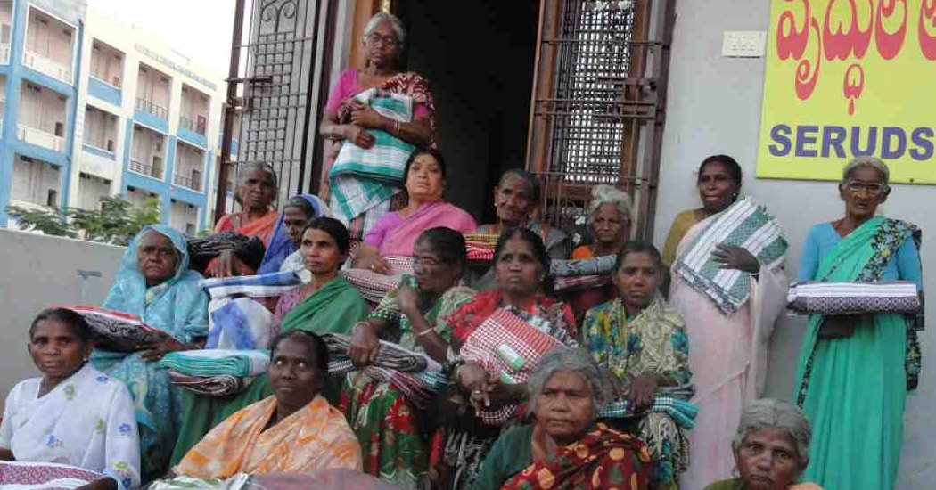 Donate funds for Elders at SERUDS Happy Old Age Home in Kurnool