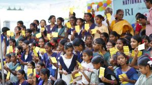 Distribution of Multivitamin Tablets for Girls
