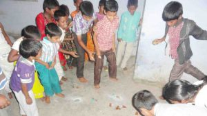 Diwali Celebration at Joy Home Orphanage at SERUDS India NGO