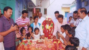 Ex-Mayor celebrating his Birthday with Orphans at SERUDS NGO in Kurnool