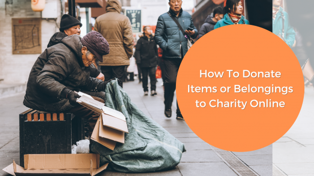Here's How To Donate Items To Charity Online _ Donate Used Articles