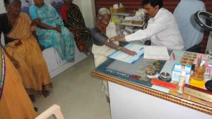 Medical Support and Benfit for Poor Old age People in SERUDS NGO