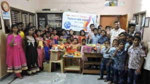 New clothes distribution program for poor children