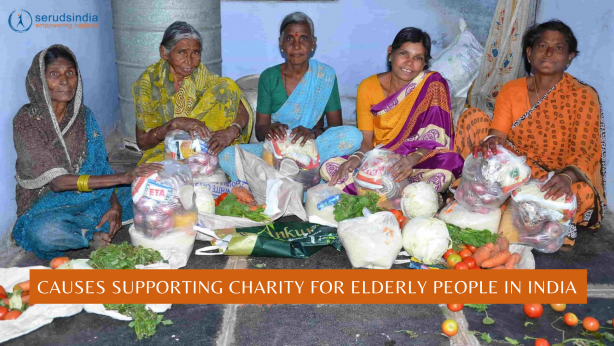 Causes Supporting Charity For Elderly People In India