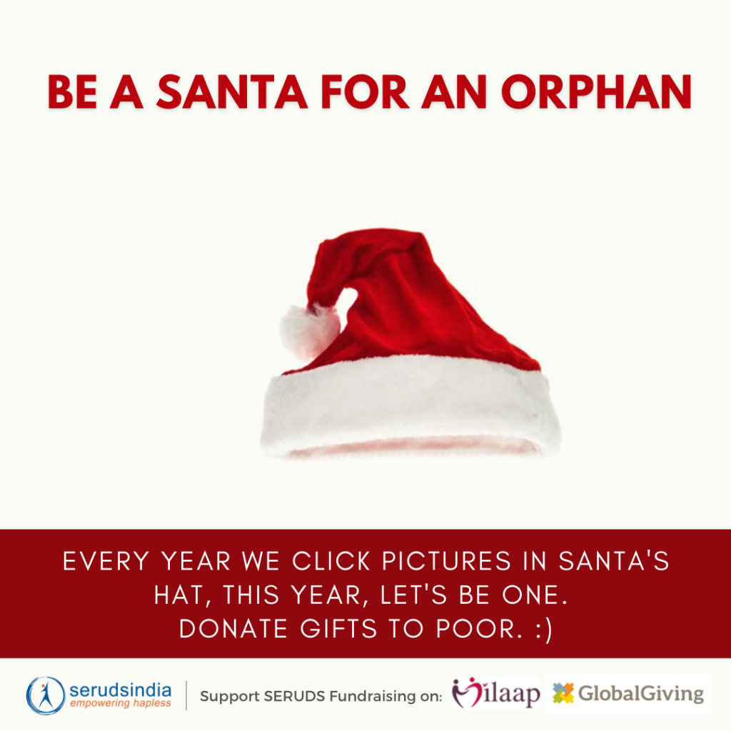 Charity ideas for Christmas 2020 for Gifts Donations SERUDS NGO