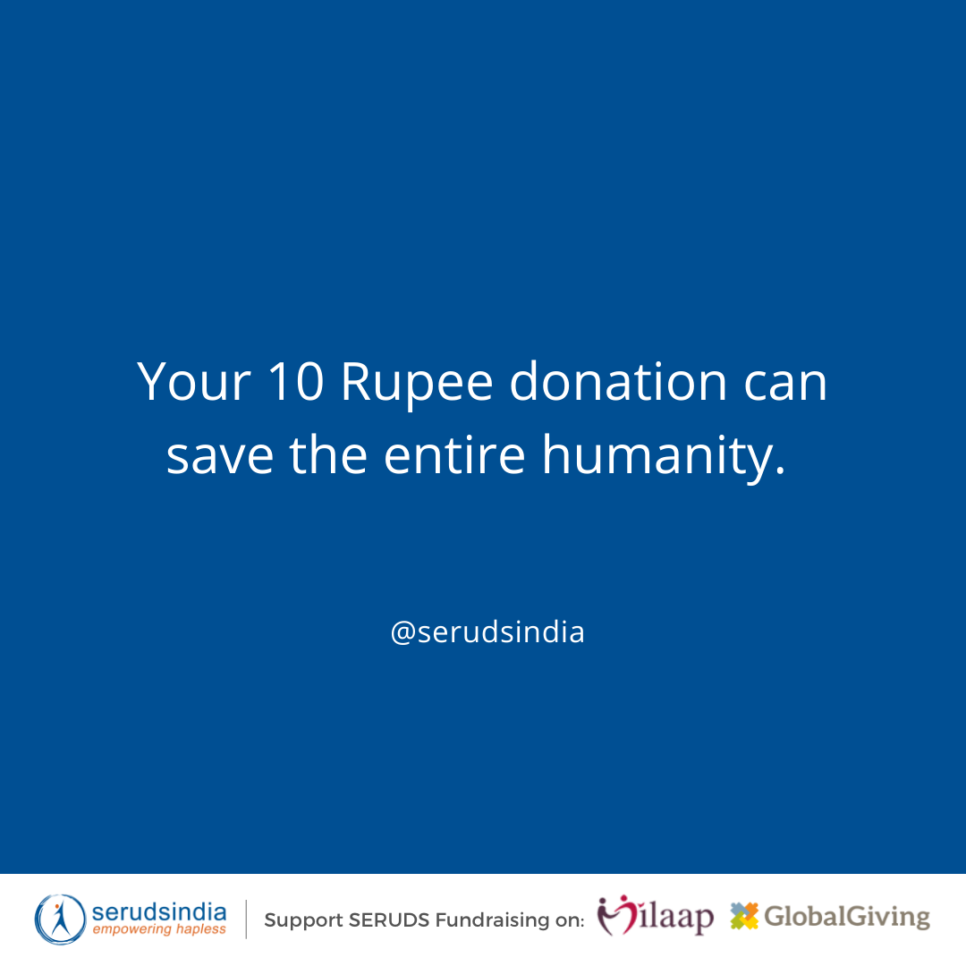 The year 2020 ends with the biggest charity in India with 10 Rs.