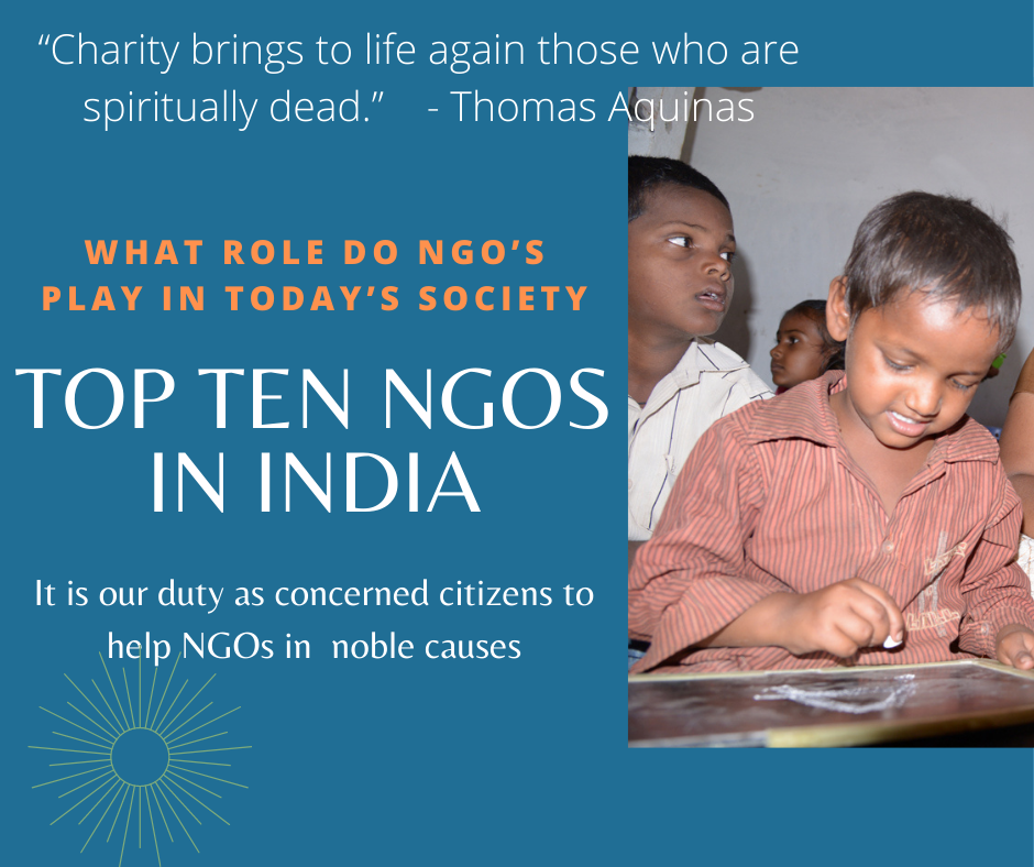 Top 10 NGOs in India