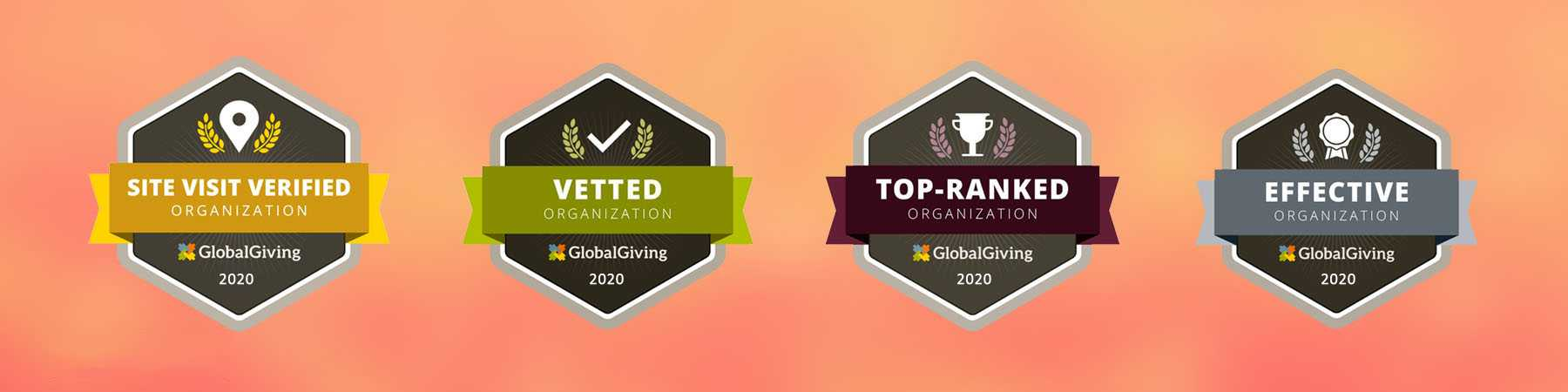 Seruds Top Ranked 2020 , Vetted and verified by GlobalGiving.org