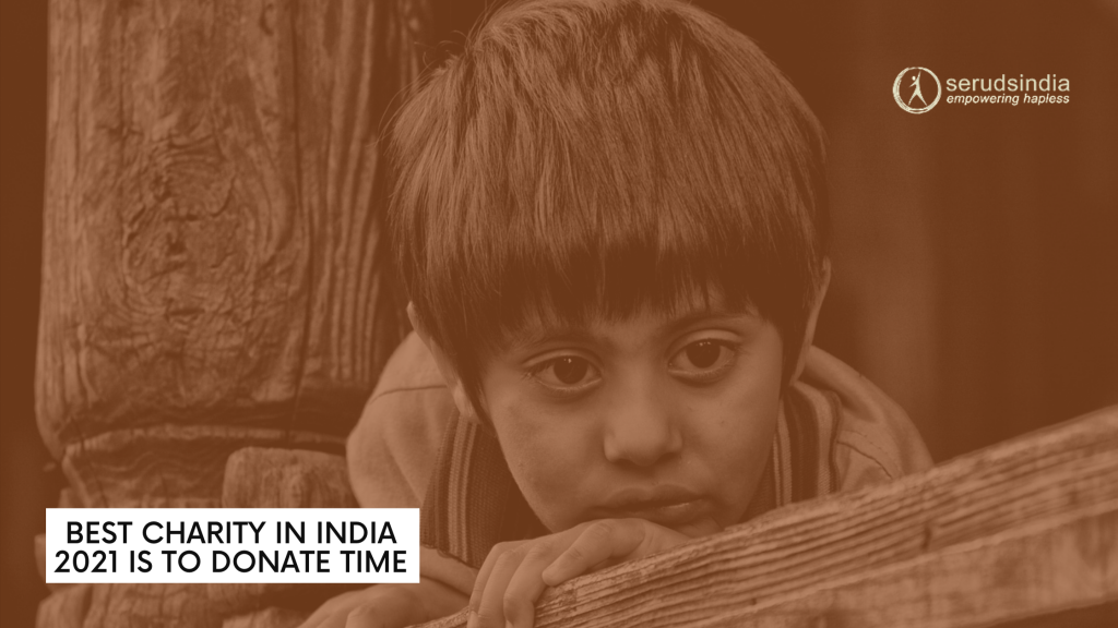 Best Charity In India 2021 Is To Donate Time _ Seruds NGO Kurnool